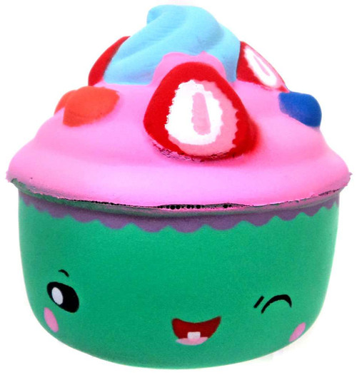 Nom!Nom!Nom! Squizzy Kawaii Squishies Cake Squeeze Toy [RANDOM Color]