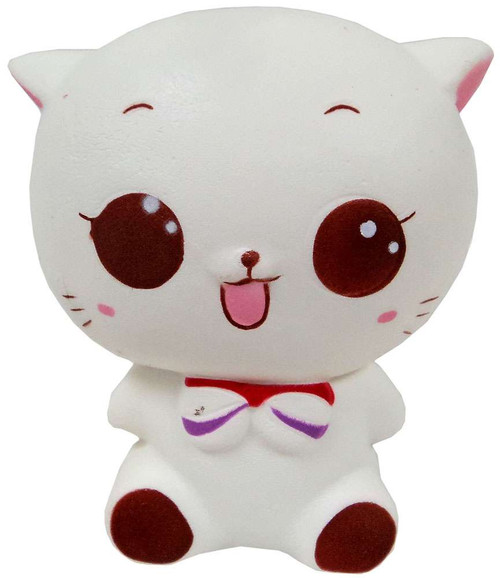 Nom!Nom!Nom! Squizzy Kawaii Squishies Maneki Cat Squeeze Toy