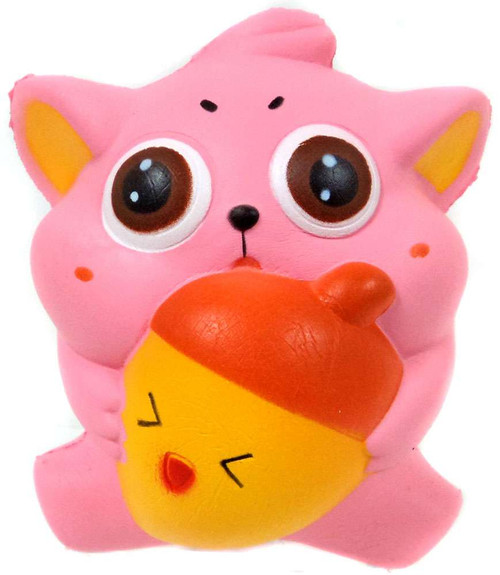Nom!Nom!Nom! Squizzy Kawaii Squishies Squirrel Squeeze Toy