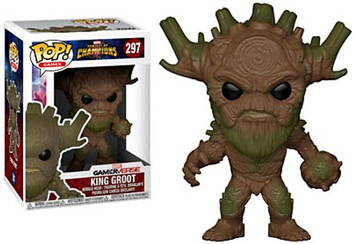 Funko Contest of Champions POP! Marvel King Groot Vinyl Bobble Head #297
