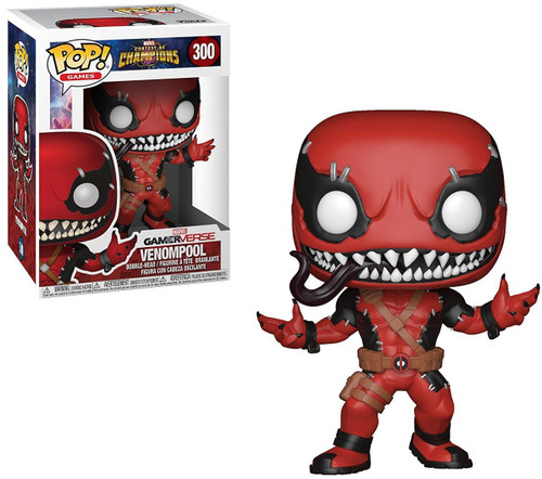 Funko Contest of Champions POP! Marvel Venompool Vinyl Bobble Head #300