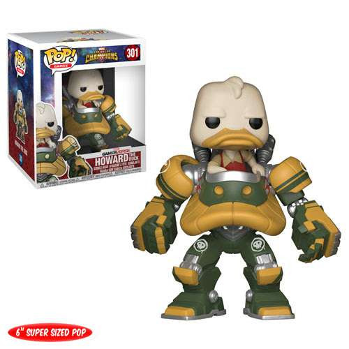 Funko Contest of Champions POP! Marvel Howard the Duck 6-Inch Vinyl Bobble Head #301 [Super-Sized]