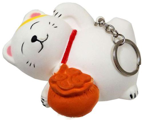 Nom!Nom!Nom! Squizzy Kawaii Squishies Maneki Cat Keychain