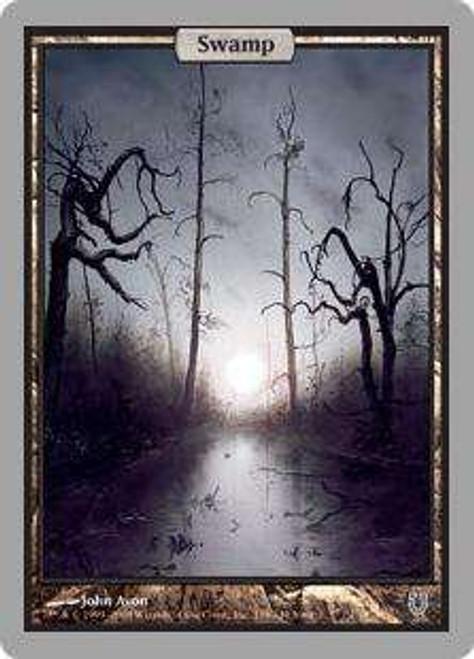 MtG Unhinged Basic Land Foil Swamp #138