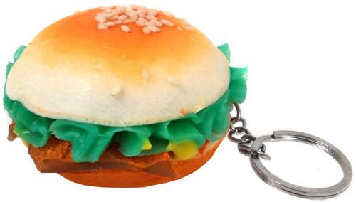 Nom!Nom!Nom! Squizzy Kawaii Squishies Hamburger Keychain [RANDOM Type]