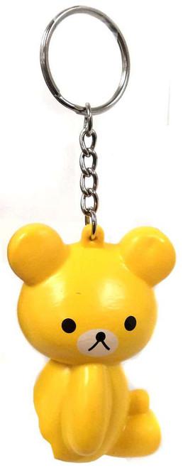Nom!Nom!Nom! Squizzy Kawaii Squishies Yellow Bear Keychain