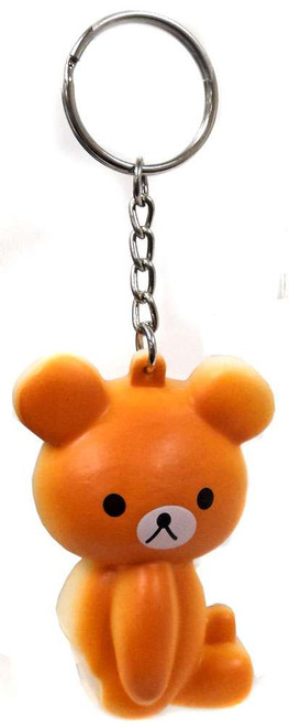 Nom!Nom!Nom! Squizzy Kawaii Squishies Brown Bear Keychain