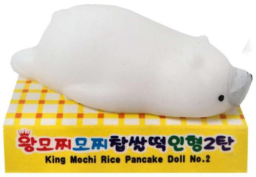 Kawaii Squishie Gummy Animals Polar Bear 1.5-Inch Squeeze Toy