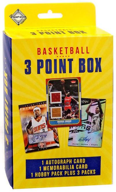Fairfield 2017 Basketball 3 Point Box Trading Card Box