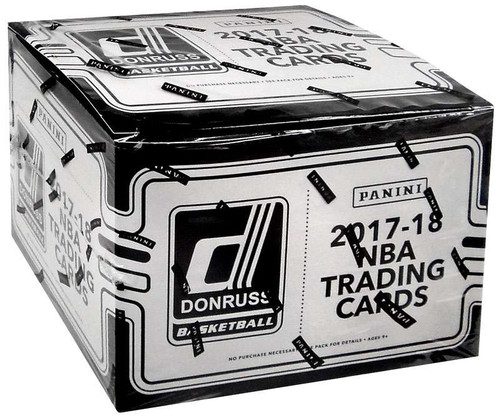 NBA Panini 2017-18 Donruss Basketball Trading Card VALUE Box [12 Packs]