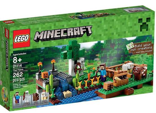 LEGO Minecraft The Farm Set #21114 [Damaged Package]