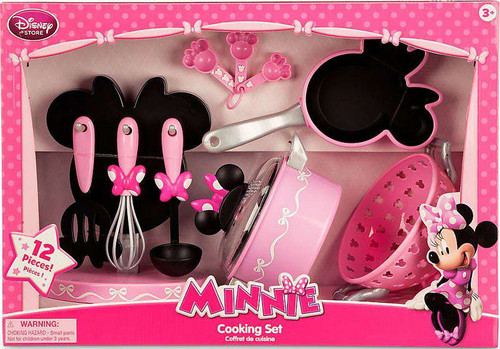Disney Minnie Mouse Cooking Set Exclusive Playset [2015, Set #3, Damaged Package]