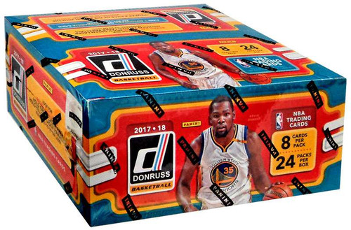 NBA Panini 2017-18 Donruss Basketball Trading Card RETAIL Box [24 Packs]