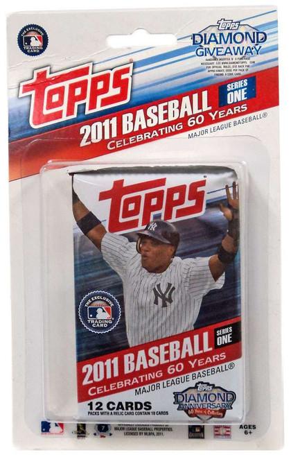 MLB Topps 2011 Baseball Series 1 Trading Card BLISTER Pack