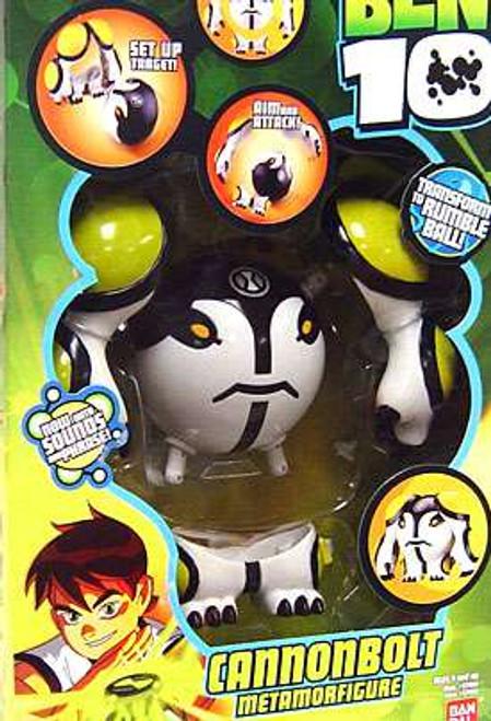 Ben 10 Metamorfigure Cannonbolt Action Figure [Damaged Package]