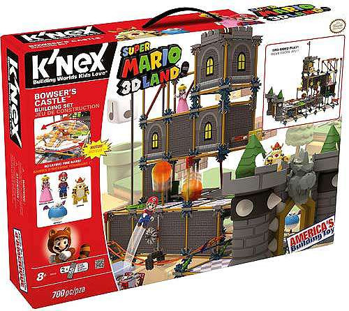 K'NEX Super Mario 3D Land Bowser's Castle Set #38530 [Damaged Package]