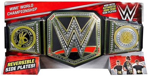 WWE Wrestling WWE World Championship Kids Replica Belt [Authentic John Cena Side Plates]