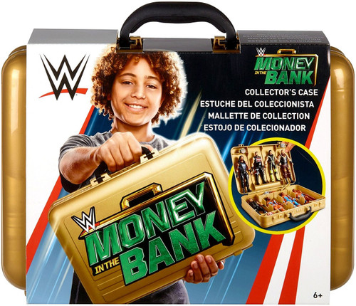 WWE Wrestling Money in the Bank Collector Case [Gold Version]