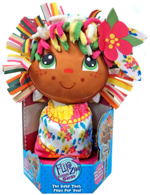 FlipZee! Precious Girls Roarie Plush Doll [African American]