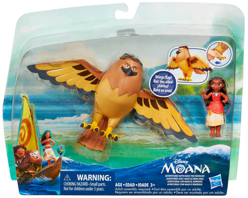 Disney Moana Adventures with Maui the Demigod Action Figure 2-Pack