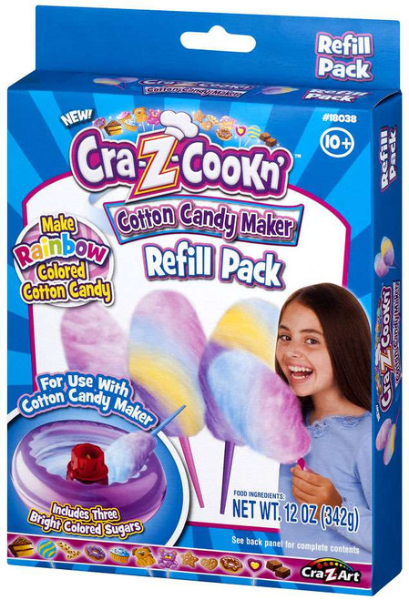 Cra-Z-Cookn' Cotton Candy Maker Refill Pack [Rainbow]