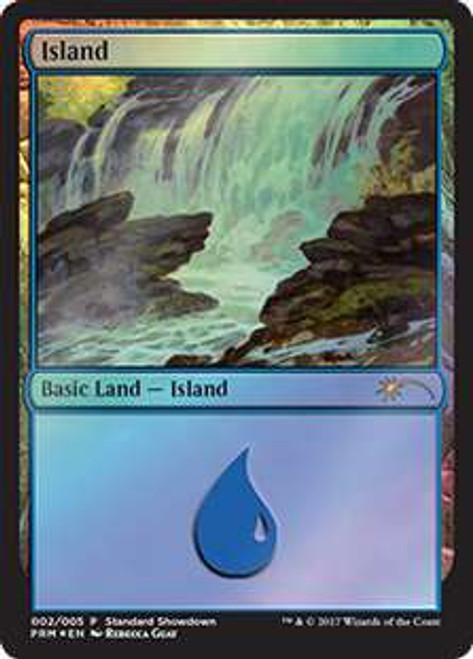 MtG Promo Cards Island #002 [Standard Showdown - Rebecca Guay]