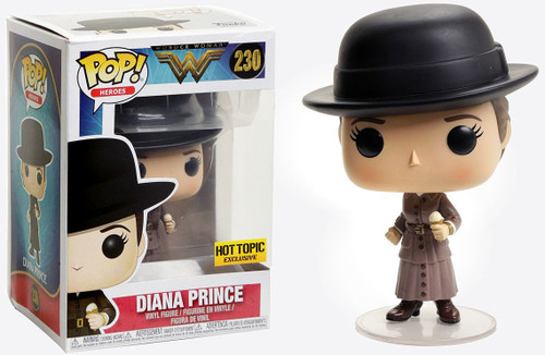 Funko DC Wonder Woman Movie POP! Movies Diana Prince Exclusive Vinyl Figure #230 [Ice Cream]