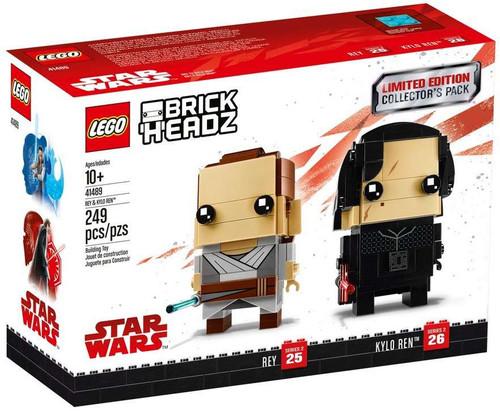 LEGO Star Wars Brick Headz Rey & Kylo Ren Set #41489