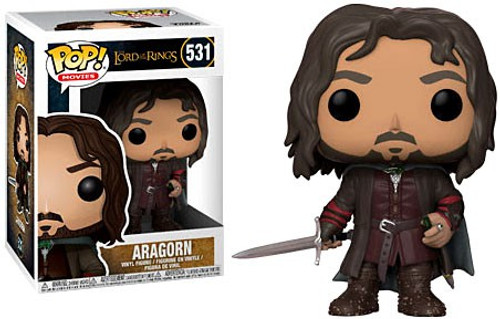 Funko Lord of the Rings POP! Movies Aragorn Vinyl Figure #531