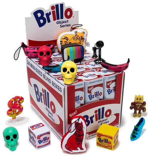 Andy Warhol Vinyl Mini Object Figure Brillo 3-Inch Mystery Box [24 Packs]
