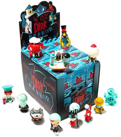 Vinyl Mini Figure Dark Harbor 3-Inch Mystery Box [24 Packs]
