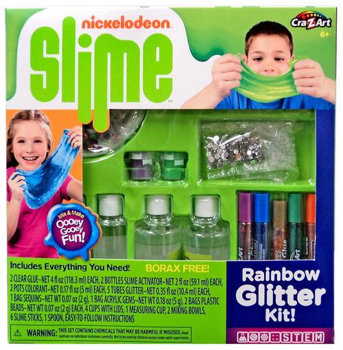 Nickelodeon Slime Rainbow Glitter Kit