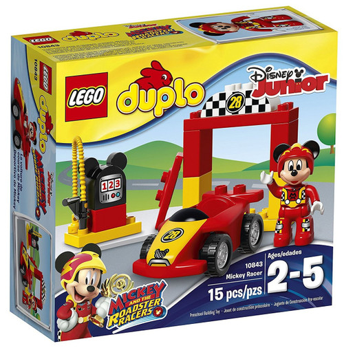 LEGO Duplo Disney Junior Mickey and the Roadster Racers Mickey Racer Set #10843