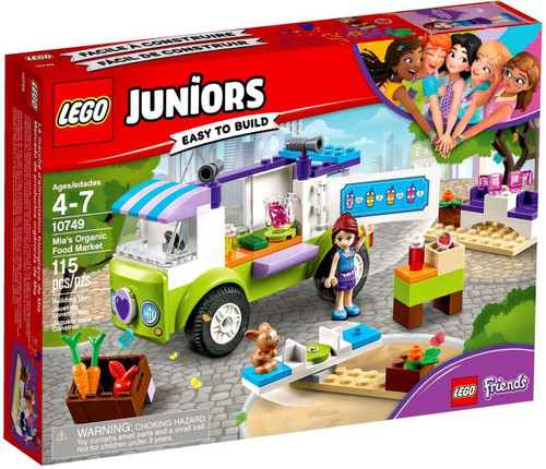 LEGO Juniors Friends Mia's Organic Food Market Set #10749