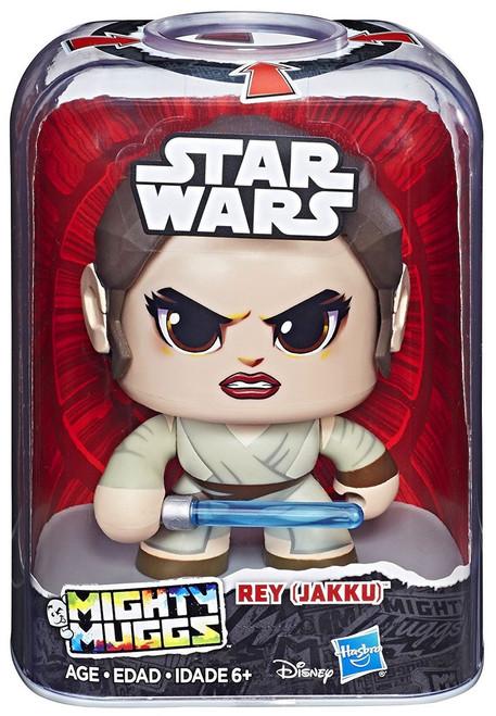 Star Wars The Force Awakens Mighty Muggs Rey Vinyl Figure