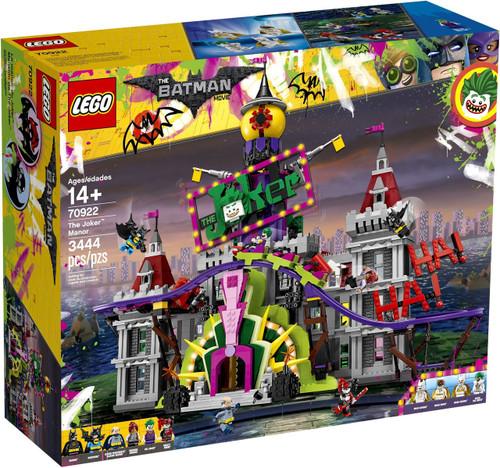 LEGO DC The Batman Movie The Joker Manor Set #70922