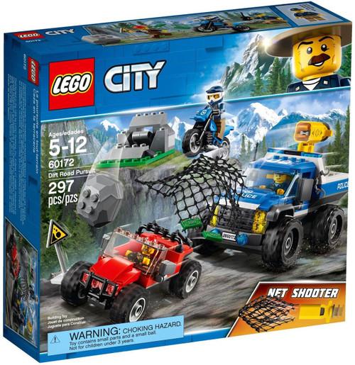 LEGO City Dirt Road Pursuit Set #60172