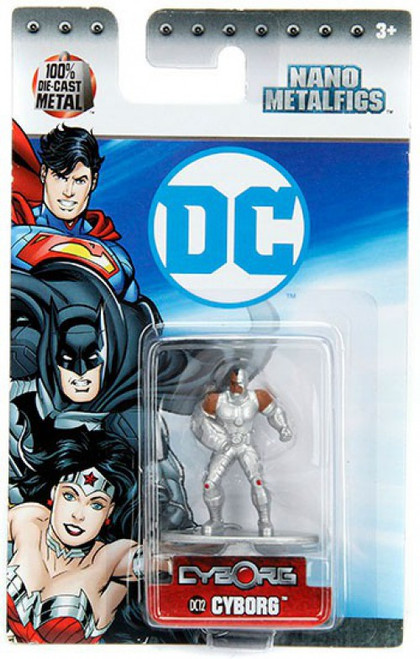 DC Nano Metalfigs Cyborg 1.5-Inch Diecast Figure DC12