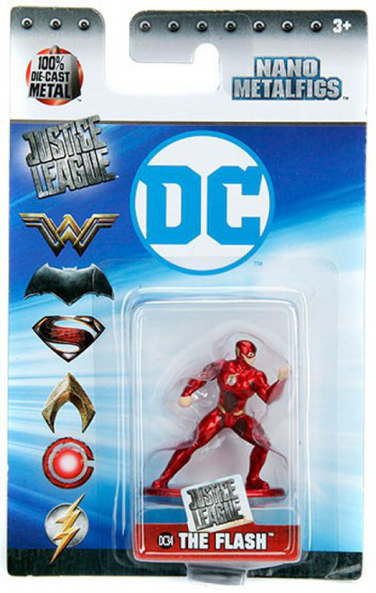 DC Nano Metalfigs The Flash 1.5-Inch Diecast Figure DC34 [DC34]