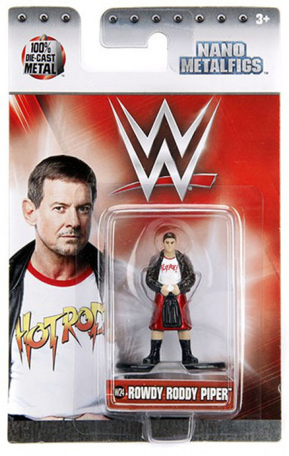 WWE Wrestling Nano Metalfigs Rowdy Roddy Piper 1.5-Inch Diecast Figure W24