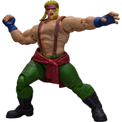 Street Fighter V Alex Action Figure