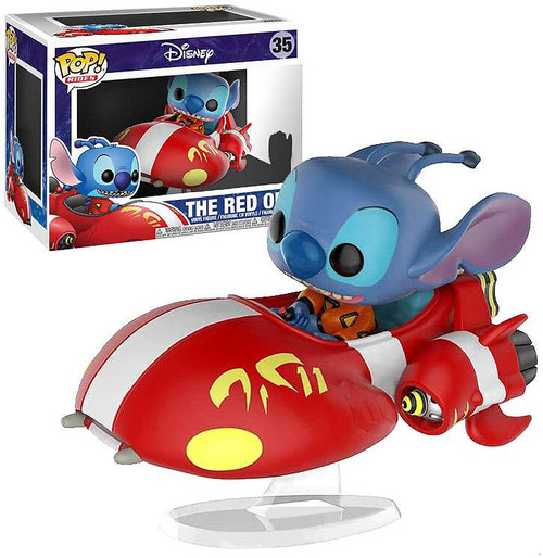 Funko Disney Lilo & Stitch POP! Rides The Red One Exclusive Vinyl Figure #35