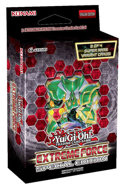 YuGiOh Trading Card Game Extreme Force Special Edition Deck