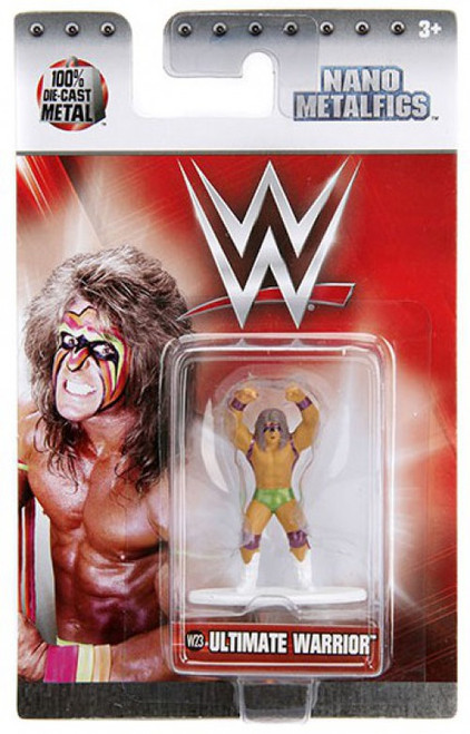 WWE Wrestling Nano Metalfigs Ultimate Warrior 1.5-Inch Diecast Figure W23