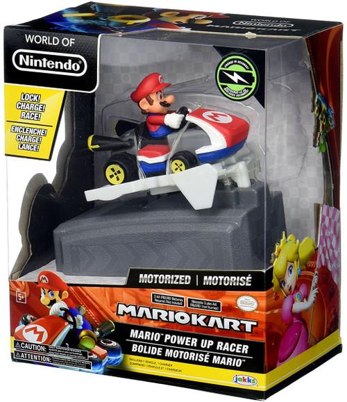World of Nintendo Mario Kart Mario Power Up Vehicle