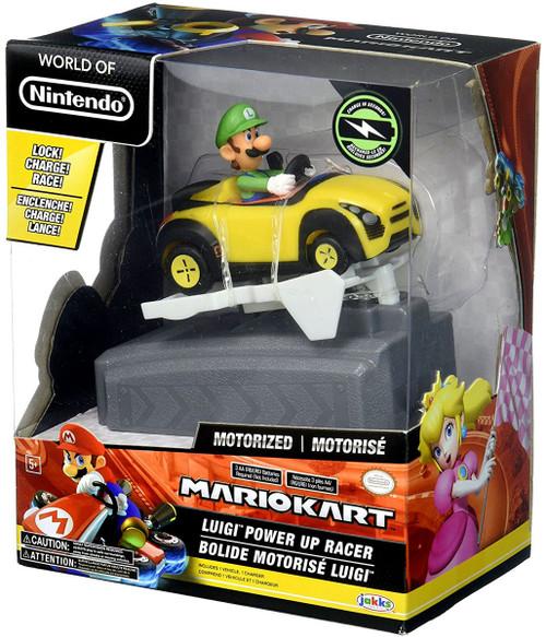 World of Nintendo Mario Kart Luigi Power Up Vehicle