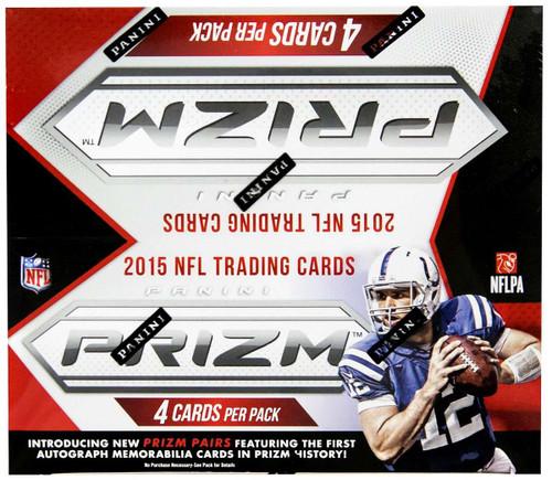 NFL Panini 2015 Prizm Football Trading Card Box [24 Packs]
