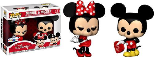 Funko POP! Disney Minnie & Mickey Exclusive Mini Figure 2-Pack [Valentine]