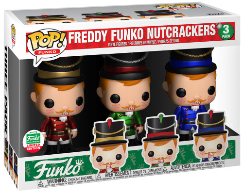POP! Nutcracker Freddy Funko Exclusive Vinyl Figure #09 [12 Days of Christmas]