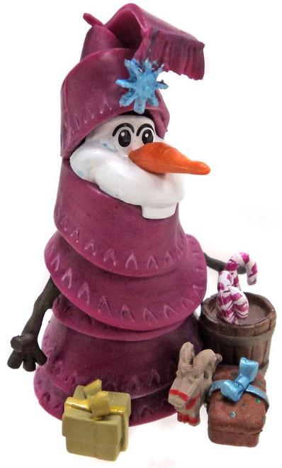 Disney Olaf's Frozen Adventure Chistmas Tree Olaf 3-Inch PVC Figure [Loose]